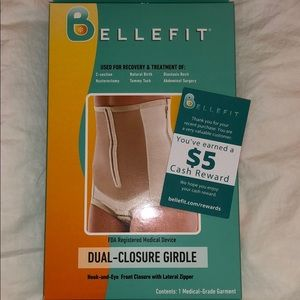 Brand New Bellefit Dual-Closure Gridle